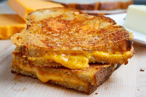 (Pan-)Fried Friday: National Grilled Cheese Month